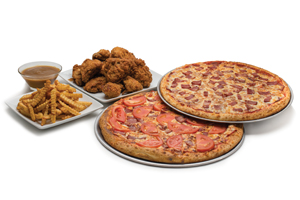 Pizza & Chicken Combos